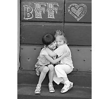 Best Friends Forever Photographic Print