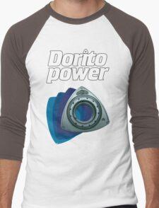 Dorito Power Blue Men's Baseball ¾ T-Shirt