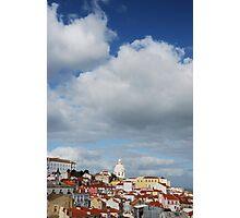 Phanteon or Santa Engracia church in Lisbon Photographic Print