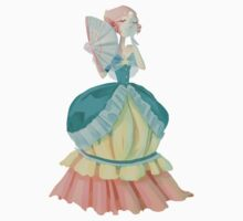 Steven Universe Victorian Pearl Kids Tee
