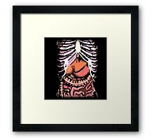 Human Body: An Inside Look Framed Print
