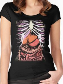 Human Body: An Inside Look Women's Fitted Scoop T-Shirt