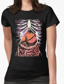 Human Body: An Inside Look Womens Fitted T-Shirt