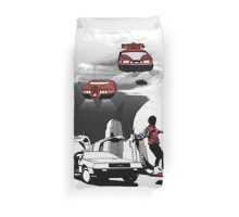 Future Time Duvet Cover
