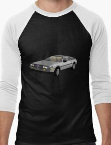 Hyrule Delorean Men's Baseball ¾ T-Shirt