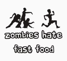 Zombies hate fast food by Alessandro Ionni