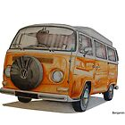 VW Camper by BSIllustration