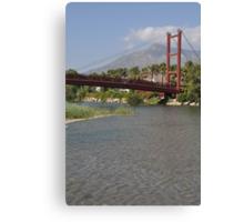 Puerto Banus bridge Canvas Print