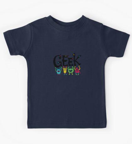 Geek Monsters Kids Clothes