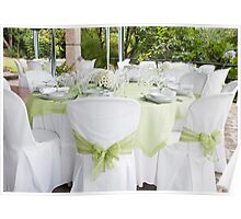 Wedding table Poster