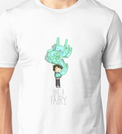 Sherlock Holmes- Bluebell: Like a fairy Unisex T-Shirt