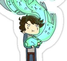 Sherlock Holmes- Bluebell: Like a fairy Sticker