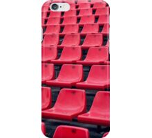 Football Soccer stadium seats iPhone Case/Skin