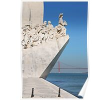 Monument to the Discoveries in Lisbon Poster