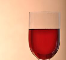 Glass of red wine by luissantos84