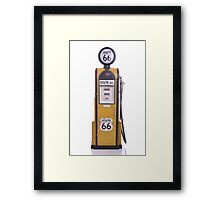 Antique fuel pump Framed Print