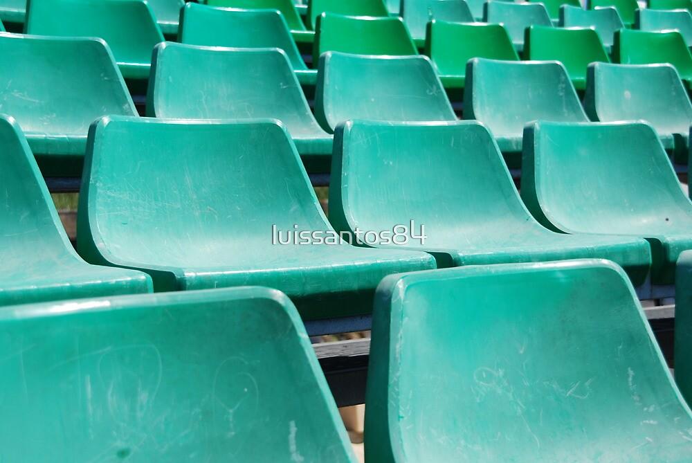 Stadium green seats by luissantos84