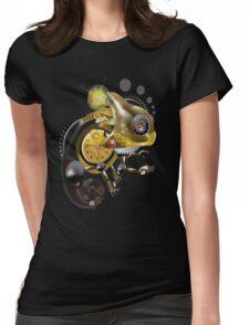 Clockwork Chameleon Womens Fitted T-Shirt