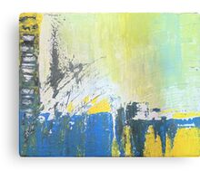 Abstract Expressionist Canvas Print