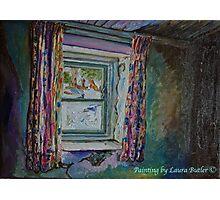 """Vacant Possession, Abandoned Cottage near St. John's Church, Islandmagee, Co. Antrim."" Photographic Print"