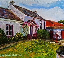 """Drumnahunshin Farm, Cultra, County Down."" by Laura Butler"