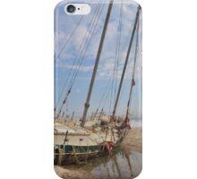 Beached Schooner iPhone Case/Skin