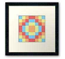 Pseudo-circle Framed Print