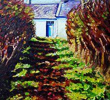 """Glencraig, Townland of Mullaghboy, Islandmagee, County Antrim."" by Laura Butler"