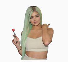 Kylie Jenner Green Wig T-Shirt