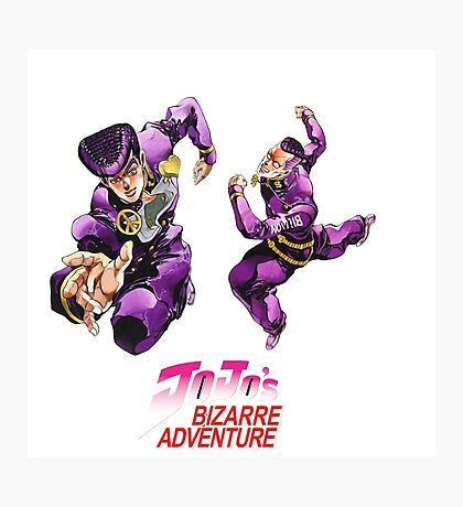 Jojo's bizarre adventure Photographic Print