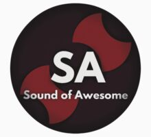 Sound Of Awesome Logo One Piece - Short Sleeve