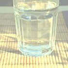 Glass of water. by Ziva Javersek