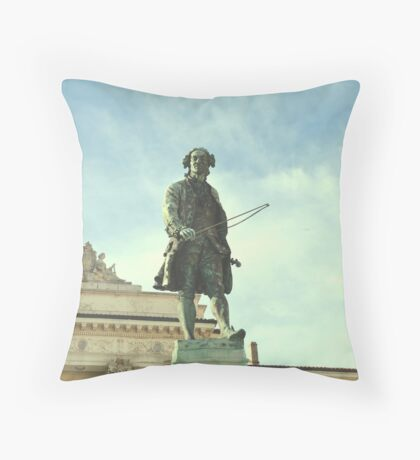 Piazza Tartini. Throw Pillow