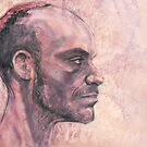 Portrait of Michel by Roz McQuillan