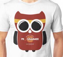 Programmer T-shirt - Owl Programmer Unisex T-Shirt