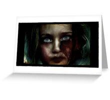 living dead girl. Greeting Card