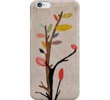 Tree Roots Poppies iPhone Case/Skin
