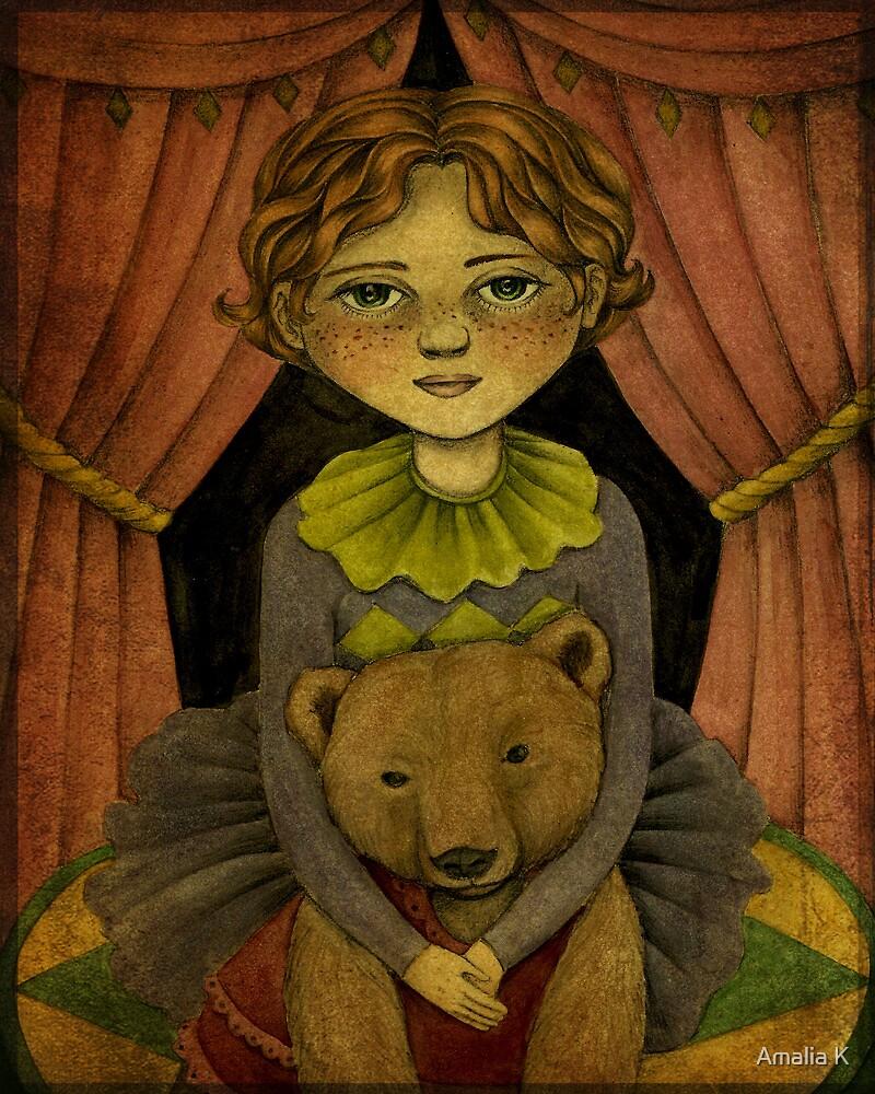 Gemma & Daisy - The Incredible Bear Act by Amalia K