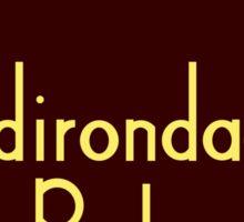 Adirondack Park Sign Sticker