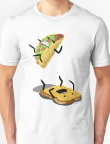 Taco Vs. Grilled Cheese Sandwich T-Shirt