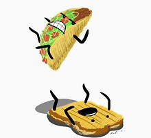 Taco Vs. Grilled Cheese Sandwich Unisex T-Shirt