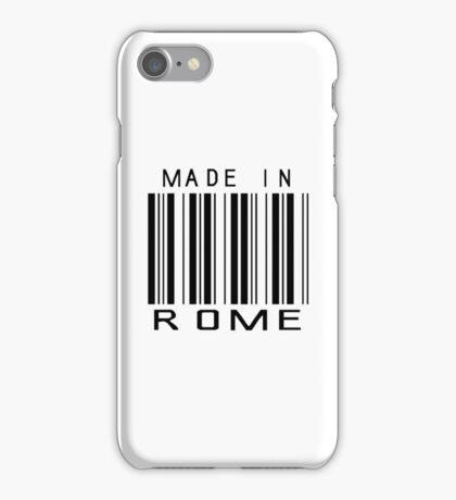 Made in Rome iPhone Case/Skin