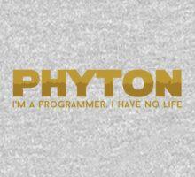 Programmer T-shirt : Phyton One Piece - Short Sleeve