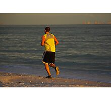 The Jogger Photographic Print