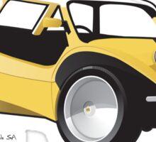 Manxter 2+2 Dune Buggy Sticker