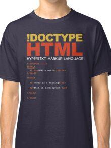 WEB HTML Classic T-Shirt