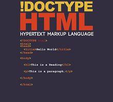 WEB HTML Unisex T-Shirt
