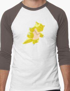 Sandshrew Men's Baseball ¾ T-Shirt