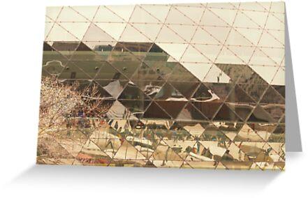 Reflections - Ottawa Congress Center by Josef Pittner