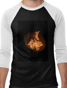 Fiery night Men's Baseball ¾ T-Shirt